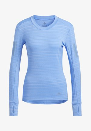 RISE UP N RUN LONG-SLEEVE TOP - Sportshirt - blue