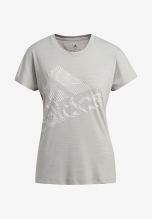 BADGE OF SPORT T-SHIRT - T-shirt con stampa - grey