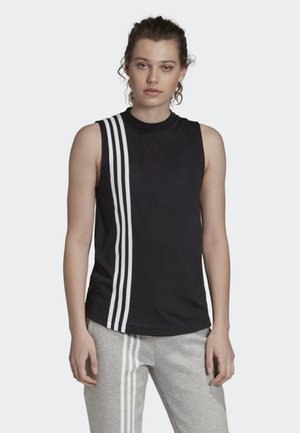 MUST HAVES 3-STRIPES TANK TOP - Topper - black