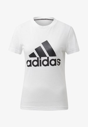 MUST HAVES BADGE OF SPORT T-SHIRT - Sports shirt - white