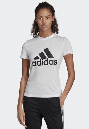 MUST HAVES BADGE OF SPORT T-SHIRT - Treningsskjorter - white