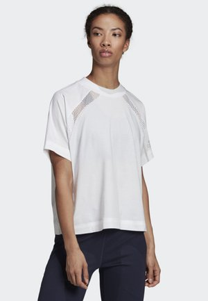 ADIDAS Z.N.E. T-SHIRT - T-shirt sportiva - white