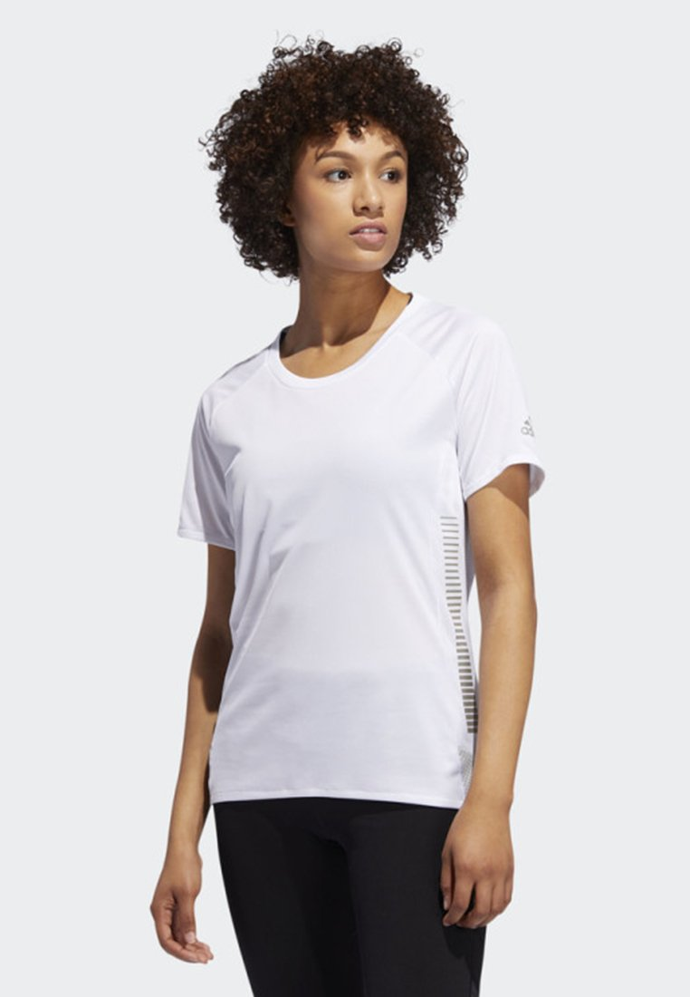 adidas Performance - 25/7 RISE UP N RUN PARLEY T-SHIRT - Funktionsshirt - white