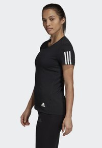 adidas Performance - RUN IT TEE - T-shirt con stampa - black - 2