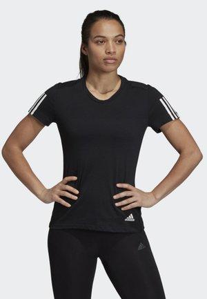 RUN IT TEE - T-shirt med print - black