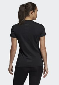 adidas Performance - RUN IT TEE - T-shirt con stampa - black - 1