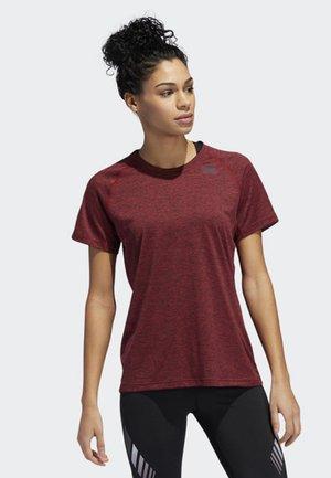 PRIME 3-STRIPES T-SHIRT - T-shirt de sport - red