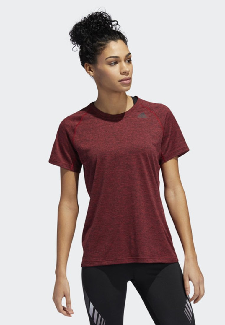 adidas Performance - PRIME 3-STRIPES T-SHIRT - Treningsskjorter - red