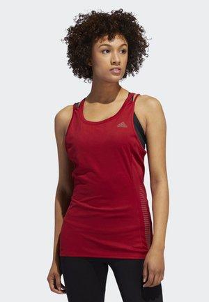 RISE UP N RUN TANK TOP - Sports shirt - red