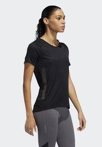adidas Performance - 25/7 RISE UP N RUN PARLEY T-SHIRT - T-shirt de sport - black - 3