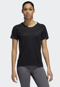 adidas Performance - 25/7 RISE UP N RUN PARLEY T-SHIRT - T-shirt de sport - black - 0