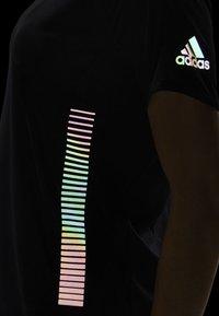 adidas Performance - 25/7 RISE UP N RUN PARLEY T-SHIRT - T-shirt de sport - black - 4