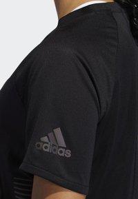 adidas Performance - 25/7 RISE UP N RUN PARLEY T-SHIRT - T-shirt de sport - black - 6