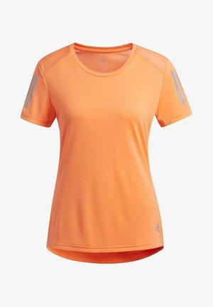 OWN THE RUN T-SHIRT - Print T-shirt - orange