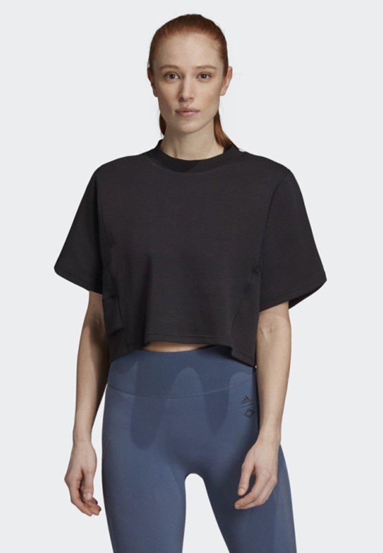 adidas Performance - WANDERLUST T-SHIRT - Print T-shirt - black