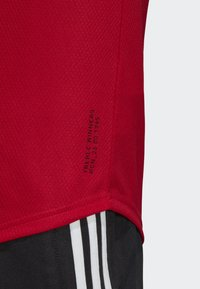 adidas Performance - MANCHESTER UNITED HOME JERSEY - T-shirt med print - red - 5