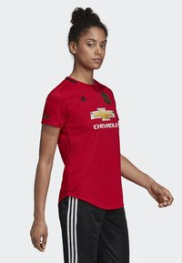 adidas Performance - MANCHESTER UNITED HOME JERSEY - T-shirt med print - red - 3