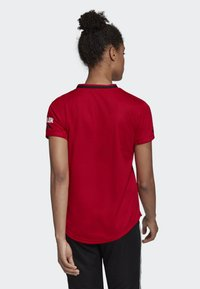 adidas Performance - MANCHESTER UNITED HOME JERSEY - T-shirt med print - red - 2