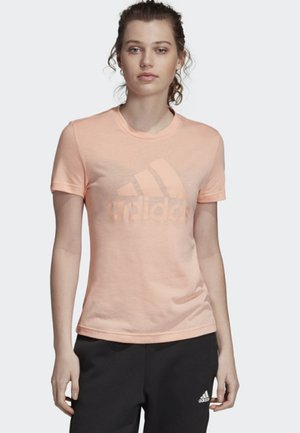 MUST HAVES BADGE OF SPORT T-SHIRT - Printtipaita - pink