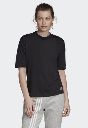MUST HAVES 3-STRIPES T-SHIRT - T-shirts med print - black