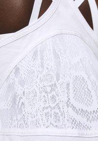 adidas by Stella McCartney - LOGO TANK - Top - white - 6