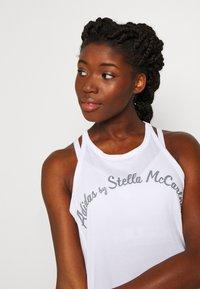 adidas by Stella McCartney - LOGO TANK - Top - white - 3