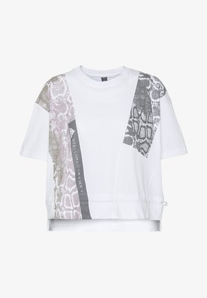 GRAPHIC TEE - T-shirts med print - white