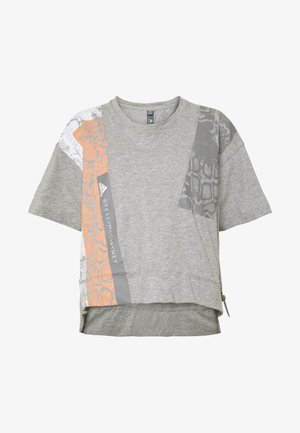 GRAPHIC TEE - T-shirt con stampa - grey