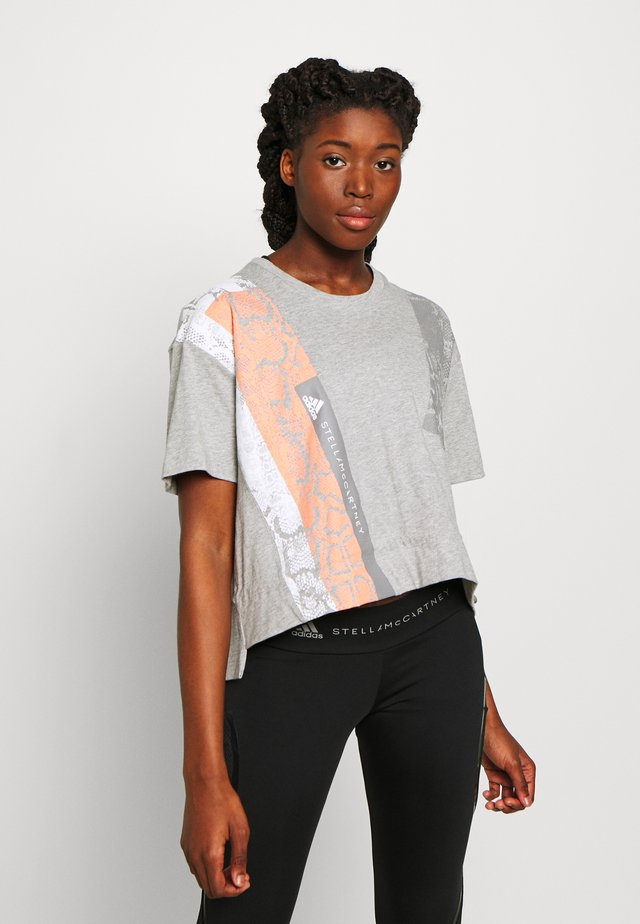GRAPHIC TEE - Print T-shirt - grey