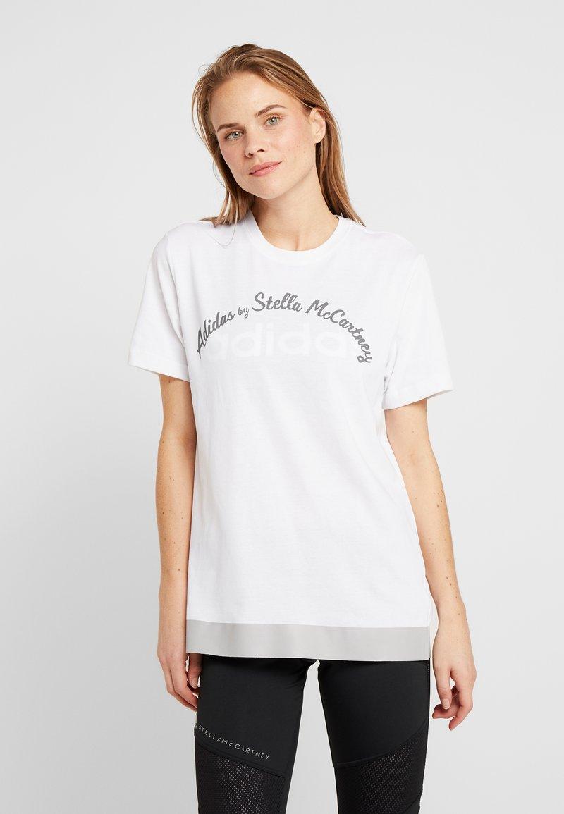 adidas by Stella McCartney - LOGO TEE - Print T-shirt - white