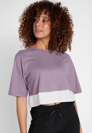 TERREX FELSBLOCK - T-shirts med print - purple