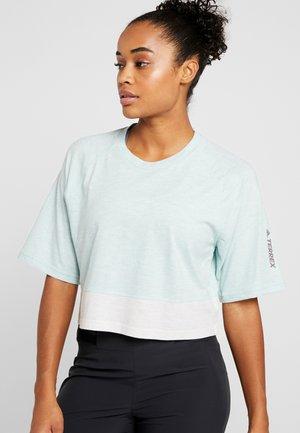 TERREX FELSBLOCK - Print T-shirt - mint