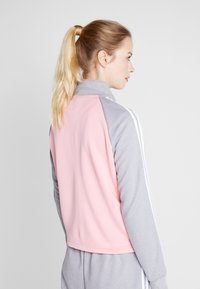 adidas Performance - GAMETIME - Treningsdress - glow pink/medium grey heather - 2