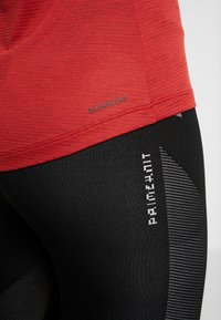 adidas Performance - TANK - Toppi - red melange - 4