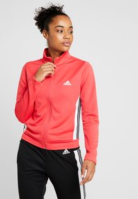 adidas Performance - TEAMSPORTS - Tracksuit - core pink/black - 0