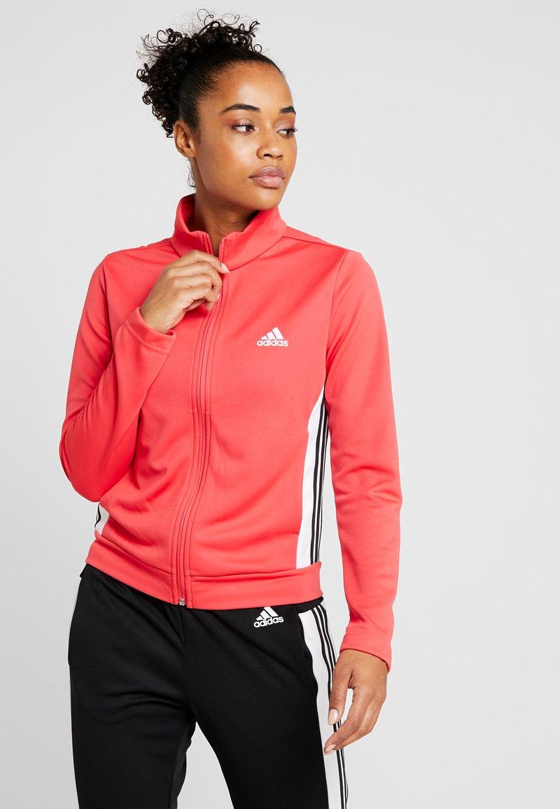 adidas Performance - TEAMSPORTS - Tracksuit - core pink/black