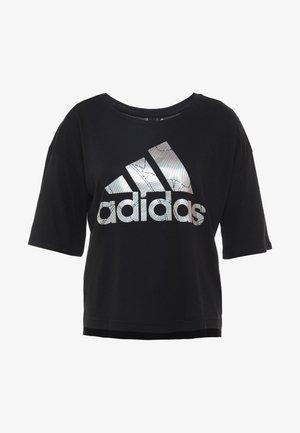 TEE - T-shirts med print - black