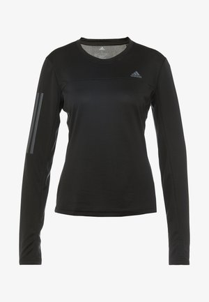 OWN THE RUN AEROREADY LONG SLEEVE T-SHIRT - T-shirt sportiva - black