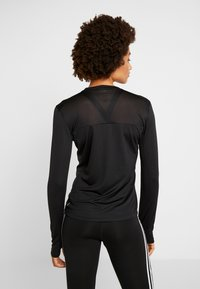 adidas Performance - OWN THE RUN AEROREADY LONG SLEEVE T-SHIRT - Tekninen urheilupaita - black - 2