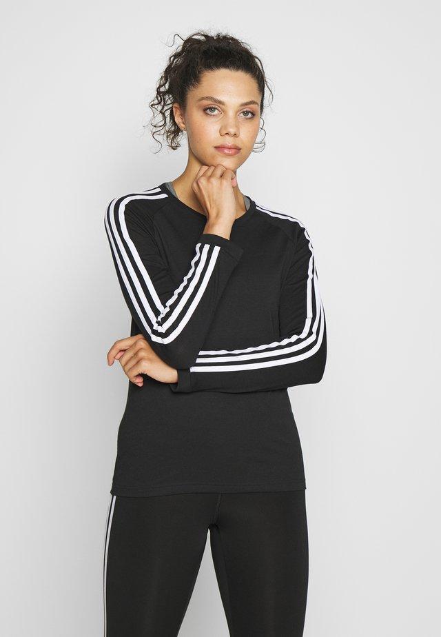 Tekninen urheilupaita - black/white