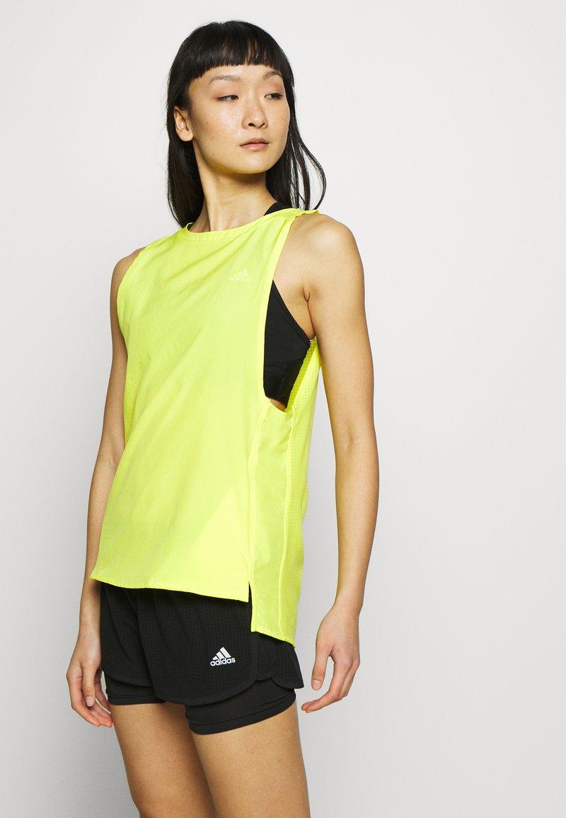 adidas Performance - TANK - Top - yellow