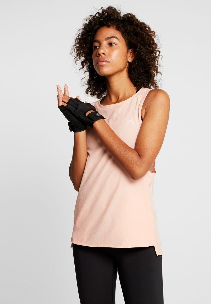 adidas Performance - TANK - Top - glow pink