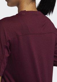 adidas Performance - ADIDAS X UNIVERSAL STANDARD PERFORMANCE T-SHIRT - Treningsskjorter - burgundy - 5
