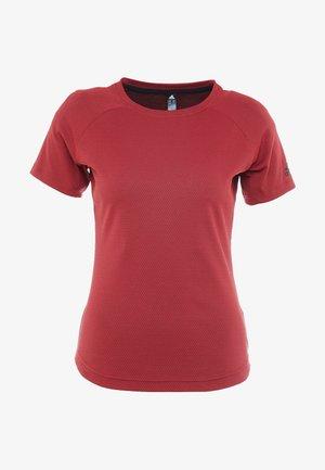 FREELIFT  - T-shirt imprimé - active maroon/black