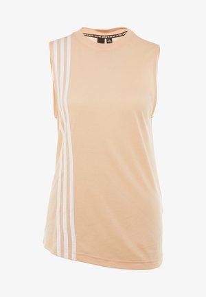 3S TANK - Top - glow pink/white