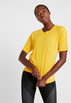 3S TEE - T-shirt con stampa - active gold/white