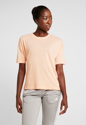 3S TEE - Camiseta estampada - glow pink/white