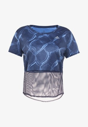 OWN THE RUN TEE - T-shirt print - real blue/legend ink