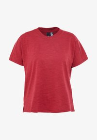 adidas Performance - ID WINN ATTEE - T-shirt con stampa - active maroon - 3