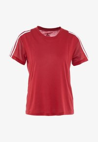 adidas Performance - T-shirts med print - active maroon - 4